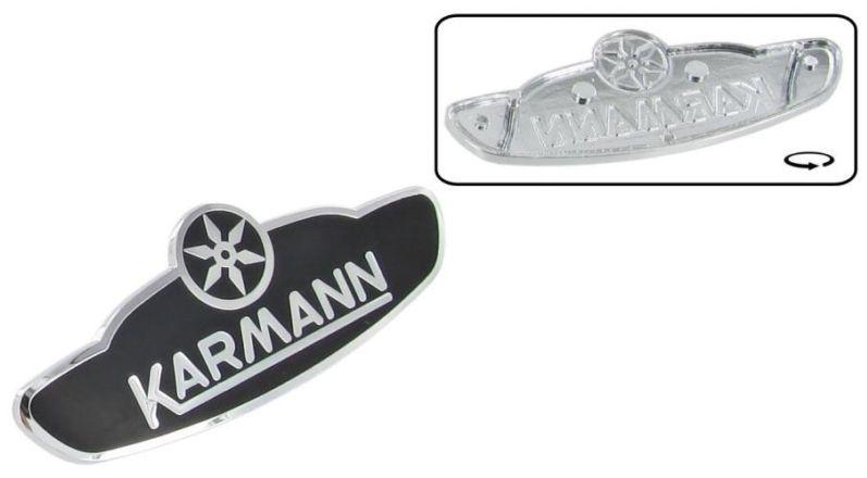 Znak Karmann/chrom černý - T.1 Cabrio (1960 » 80)