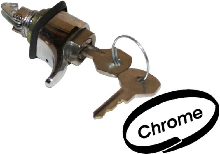 Zámek víka přihrádky/klíč - Typ 1/3/14 (1952 » 67)