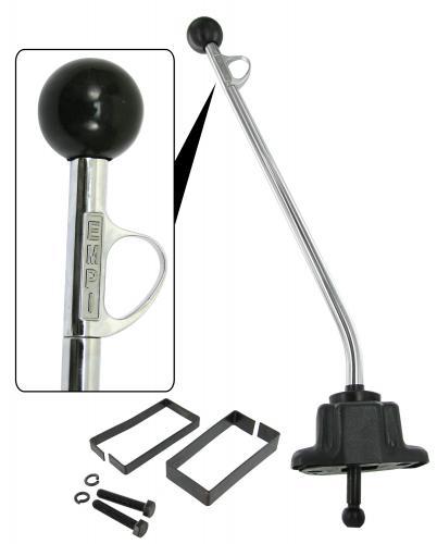 Páka řazení Trigger/597mm/chrom - Typ 2 (1959 » 79)