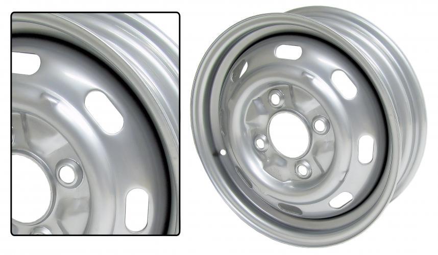 Kolo ocelové/lak 4x130mm ET +45 (4.5x15)
