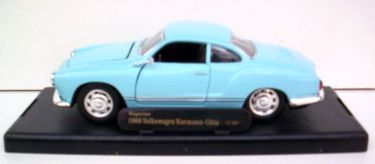 Model 1:28/modrý (Karmann Ghia)