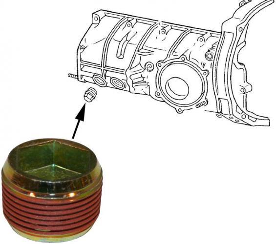 Šroub převodovky/boční - Typ VW (» 2003)