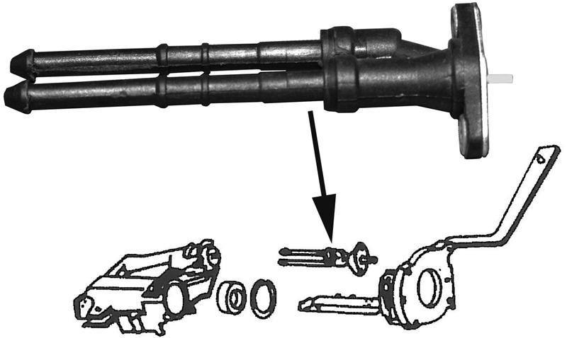 Ventil páčky stěrače/ostřikovač - Typ 1/3/14/181 (1971 »)