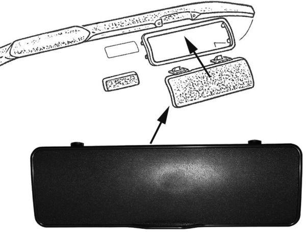 Víko schránky/palubní deska - Typ 2 (1967 » 79)