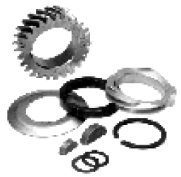 Rozvodová kola klikové hřídele/kit I - Typ 1/3/WBX motory (1960 »)