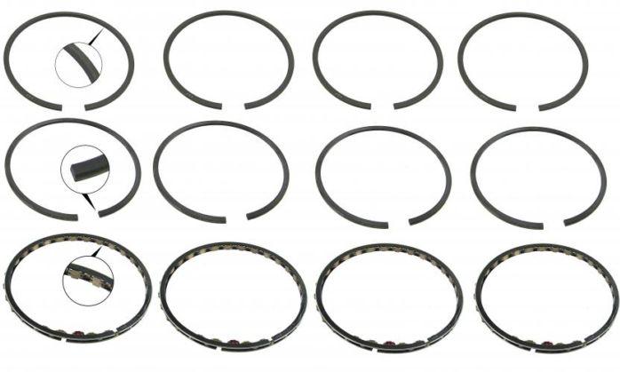 Pístní kroužky chrom/92x1.5x2x4mm - Typ 1/3/CT/CZ motory (1967 »)