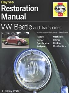 Kniha renovace Brouka/Transporter (manuál)