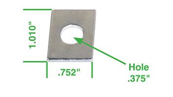 Podložky pod vahadla/1.52mm - Typ 1/3/CT/CZ/WBX motory (1965 »)