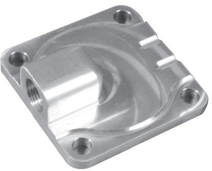 Víko čerpadla oleje/Alu - Typ 1/3 motory (» 1960)