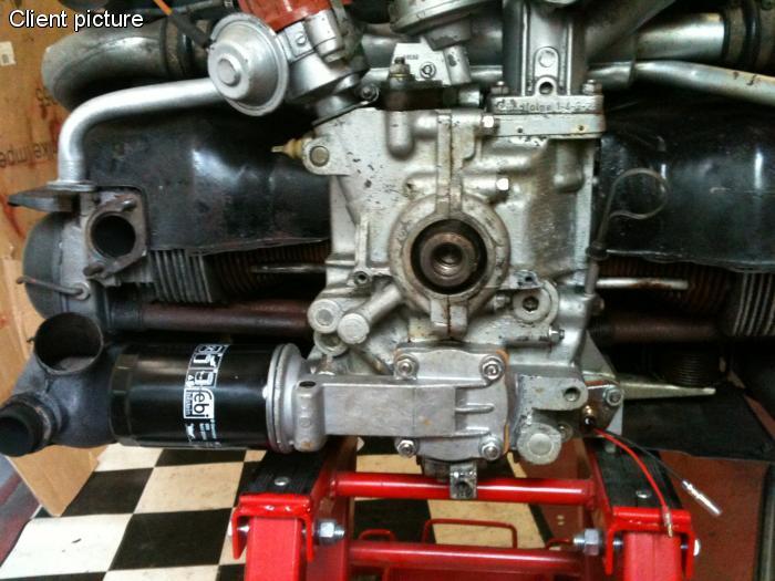 Čerpadlo oleje HD pro filtr/30mm - Typ 1 motor (1967 » 71)