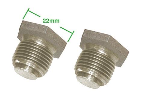 Šrouby přepouštěcího tlaku oleje/Std - Typ 1/3/WBX motory (1961 »)