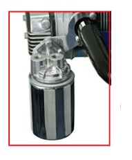 Držák adaptéru oleje Alu/exteriér - Typ 1/3 motory (» 2003)