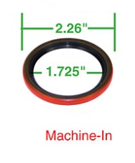 Gufero řemenice/spodní - Typ 1 motory (#4515-20)