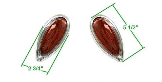 Světla zadní/červená - Typ 1 (univerzál)