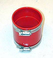 Adaptér filtru vzduchu/červený uretan (82x68mm)