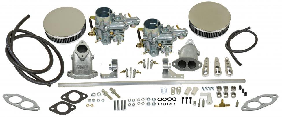 Karburátory EMPI EPC 34 dual/kit - Typ 3 (1961 »)