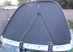 Držák zadní kapoty/sport - Typ 1 (» 2003)