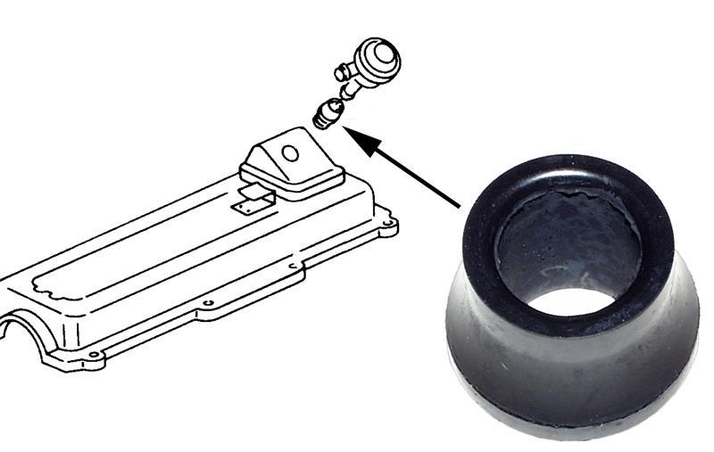 Kroužek těsnící/regulace tlaku - Typ 25/Golf/Jetta (1982 » 92)