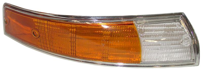 Sklo směrového světla/přední P - Porsche 911 (1968 » 73)