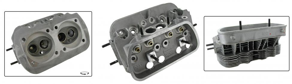 Hlava motoru 040/dual - Typ 1/3 motory (» 1992)