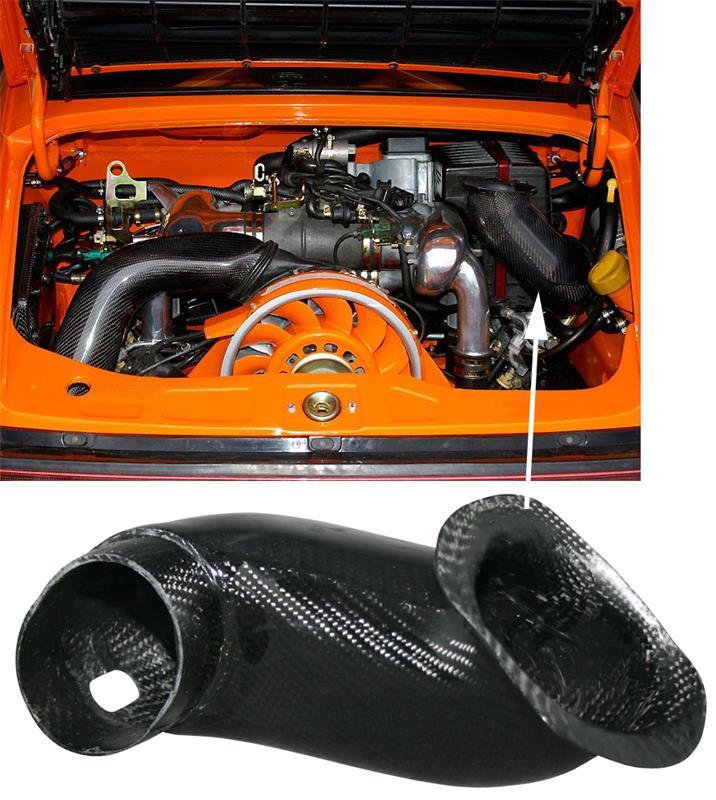 Potrubí sání vzduchu/karbon - Porsche 911/964 (1988 » 94)
