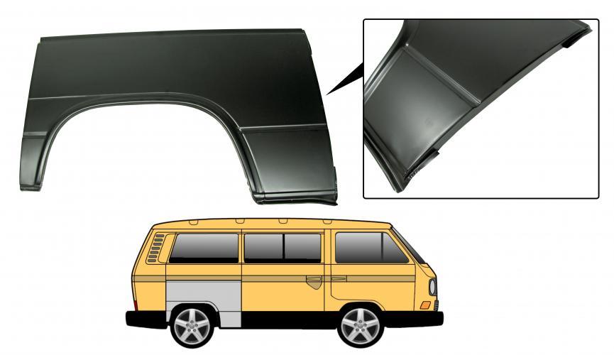 Blatník zadní/komplet P - Typ 25 (1979 » 92)