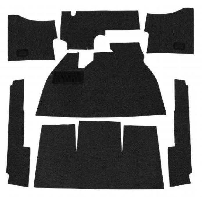 Koberce podlahy/černé - Typ 1 (1959 » 68)