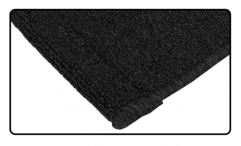 Koberce zavazadlového prostoru zadní/černé - Typ 1 (1964 » 72)