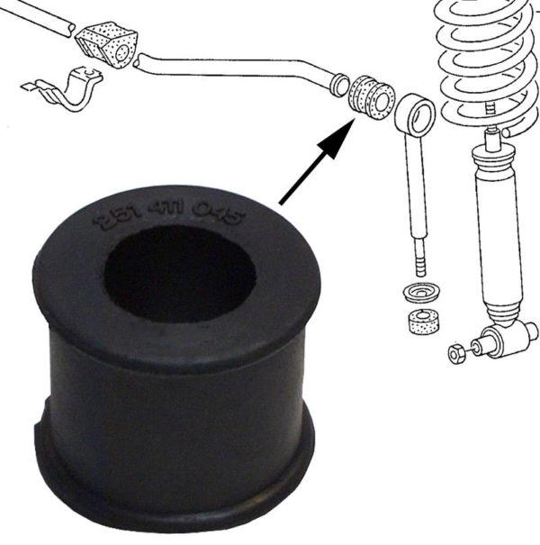 Pouzdro stabilizátoru 21mm/přední - Typ 25 (1979 » 92)