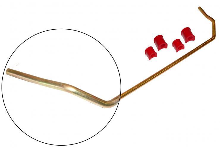 Stabilizátor přední HD/červený uretan/kit - Typ 1/14 (» 1965)