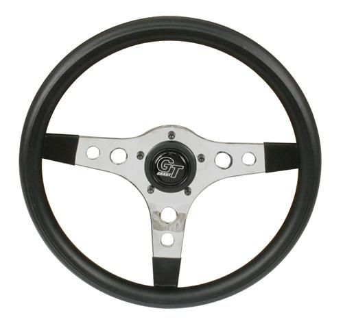 Volant GT sport černý/chrom (330mm)