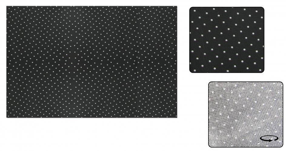 Čalounění stropu/černý vinyl - Typ 1 (faltdach/šíbr)