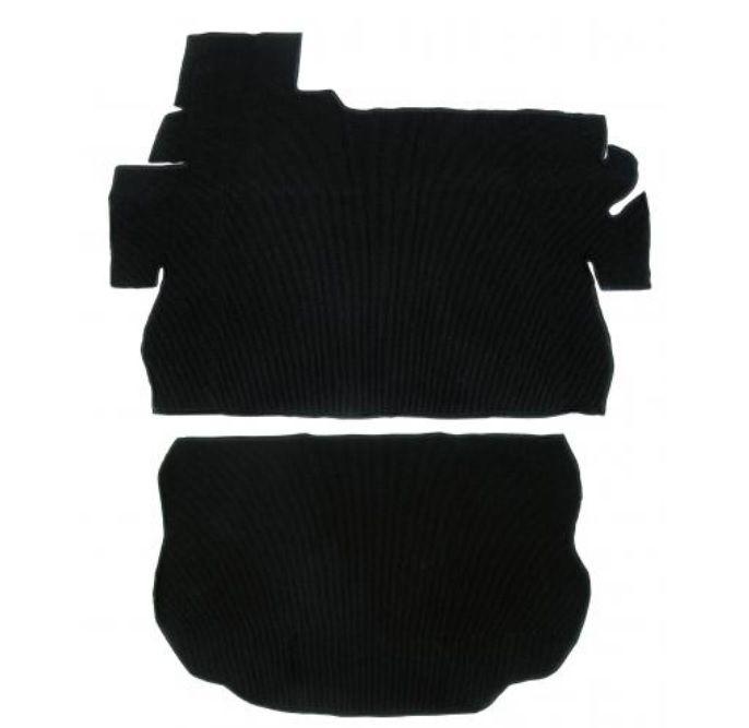 Koberce zavazadlového prostoru/černé - Typ 1 1303 (1972 » 80)