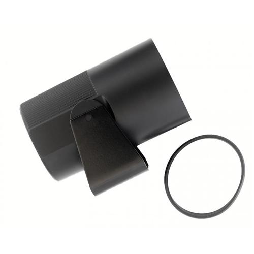 Pouzdro přístroje metal/prodloužená délka (Ø 52mm)