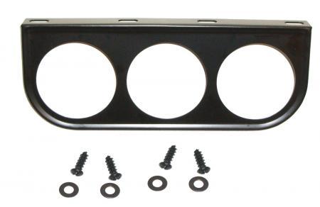 Konzole metal/3 přístroje (Ø 52mm)