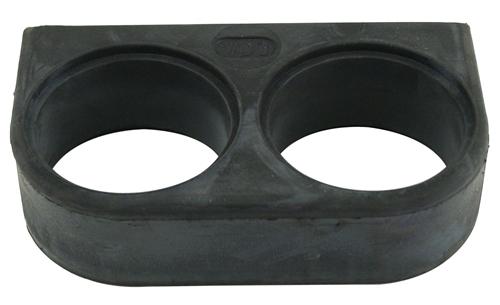 Konzole pryž/2přístroje (Ø 52mm)