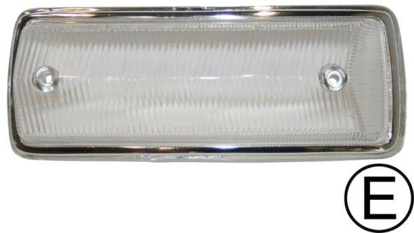 Sklo směrového světla čiré/přední P - Typ 2 (1967 » 72)