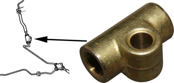 Rozvod trubek brzd - Typ (1968 »)