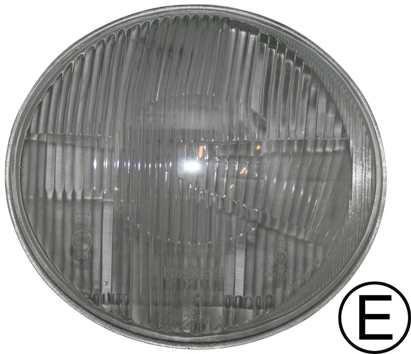Sklo světlometu OE/L - Typ 2 (1960 » 67)