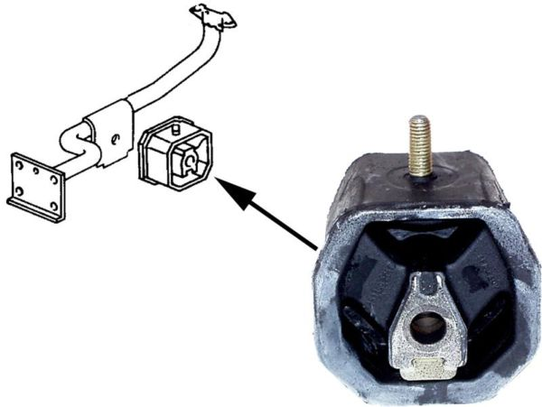 Silentblok motoru - Typ 25 (1982 » 92)