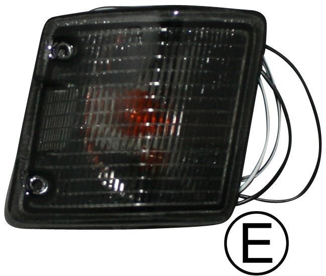 Světlo směrové kouřové/přední P - Typ 25 (1979 » 92)