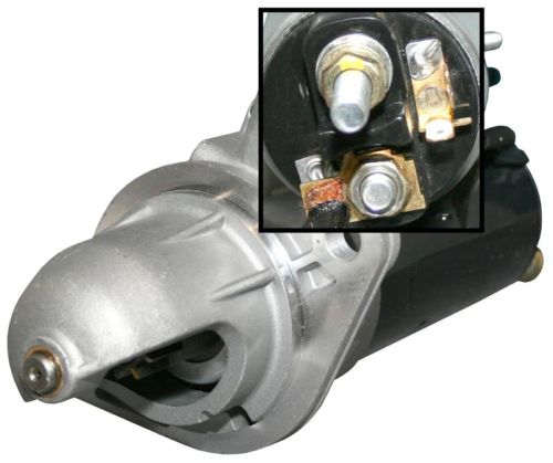 Startér motoru/1.7kW - Typ 25 D/TD motory (1981 » 85)