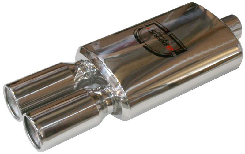 Výfuk sport S/S dual 855x60x90mm (koncový díl)