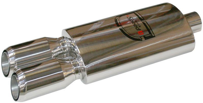 Výfuk sport S/S dual 855x60x60mm (koncový díl)