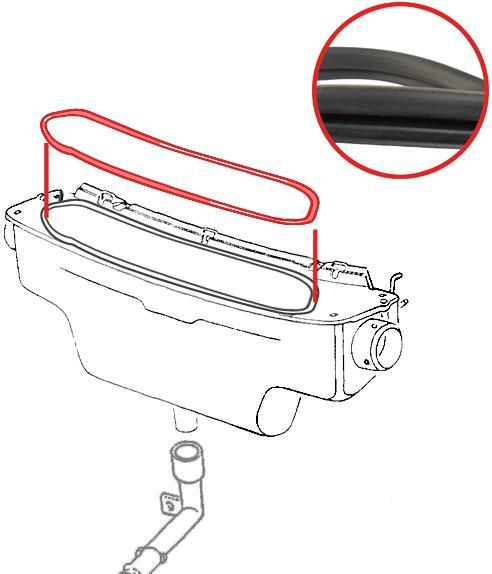 Těsnění/box ventilace - Typ 1 (1967 » 03)
