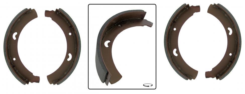 Čelisti brzd/přední - Typ 2 (1955 » 63)
