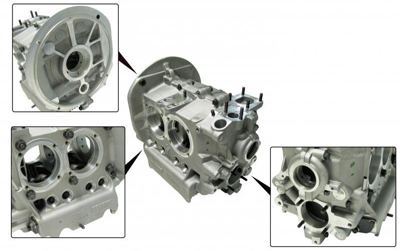 Blok motoru Alu/97mm - Typ 1/3 motory (94/69mm)