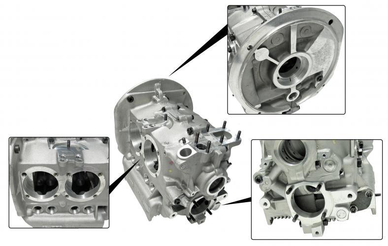 Blok motoru Alu HD/96mm - Typ 1/3 motory (92/82mm)