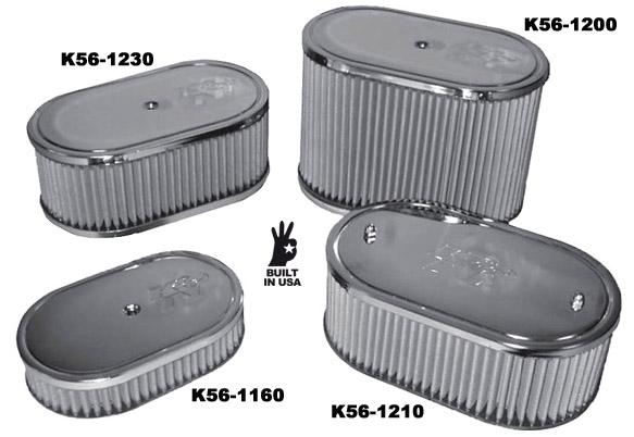 Filtr vzduchu OE/chrom/178x103xx45mm (40-48IDF)