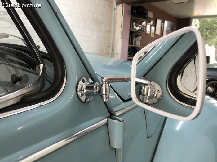 Držák zrcátka vnější/chrom - Typ 1 (1967 »)